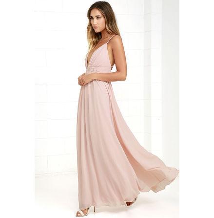 Blush Thea dress