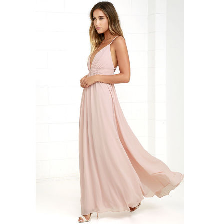 Blush Thea dress