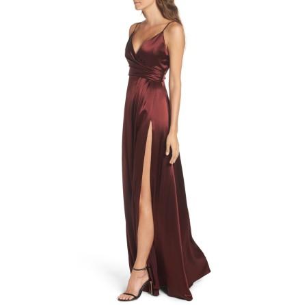 Satin Eve dress
