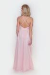 Ella V-neck cross back dress