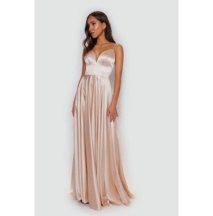 Stella wide skirt side pocket dress
