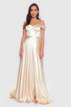 Alaina Off the Shoulder Gown